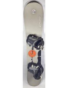 DESKA UŻYWANA FLOW MERCURY 160cm + WIĄZANIA FLOW FL11 (570)