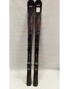 NARTY UŻYWANE ATOMIC BLACK MINX 155cm. (177)