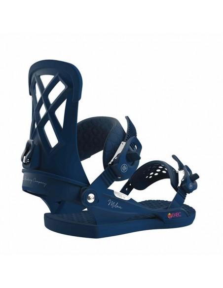 Wiązania snowboardowe Union MIlan Midnight Blue roz. S