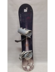 SNOWBOARD UŻYWANY PROJECT 153 cm