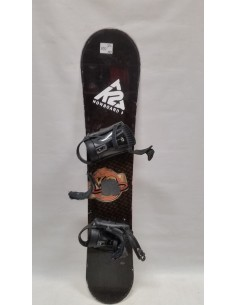 SNOWBOARD UŻYWANY K2 155 cm