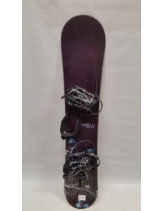 SNOWBOARD UŻYWANY RAVEN 145 cm