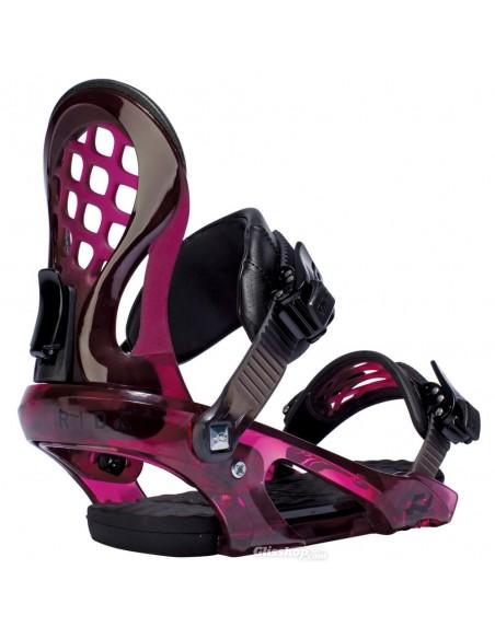Wiązania snowboardowe damskie