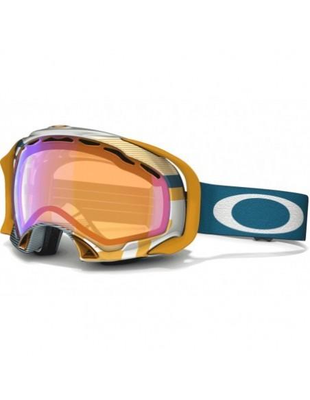 Gogle snowboardowe damskie